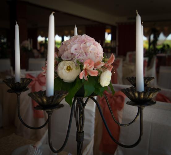 Aranjament floral botez