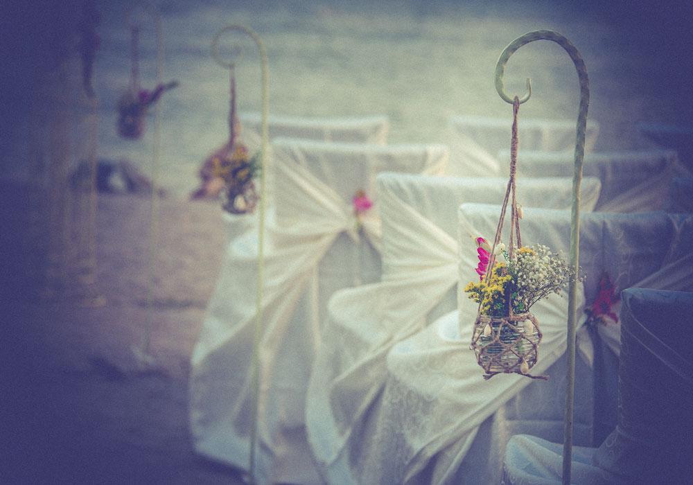 Decor nunta la malul marii